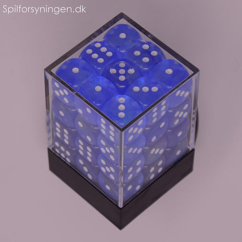 Borealis™ – 12mm d6 Sky Blue w/white Dice Block™
