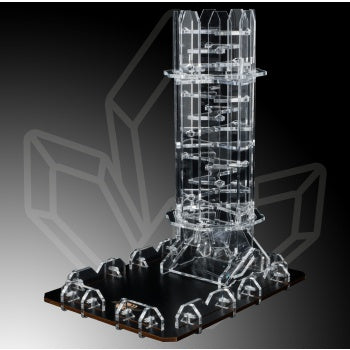 Crystal Twister Dice Tower