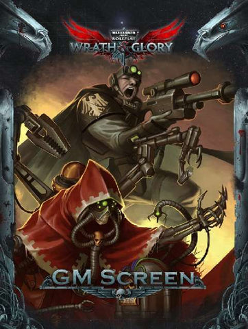 Warhammer 40000 Roleplay Wrath and Glory - GM Screen