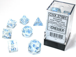 Borealis™ – Polyhedral Icicle/light blue Luminary 7-Die Set
