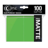 Ultra Pro Eclipse Lime Green 100 Matte Sleeves