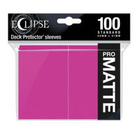 Ultra Pro Eclipse Hot Pink 100 Matte Sleeves