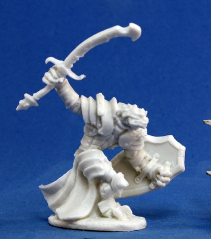Reaper Bones - Dragonman Warrior
