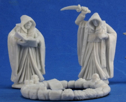 Reaper Bones - Cultists and Circle (3)