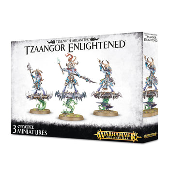 Disciples of Tzeentch Tzaangor Enlightened
