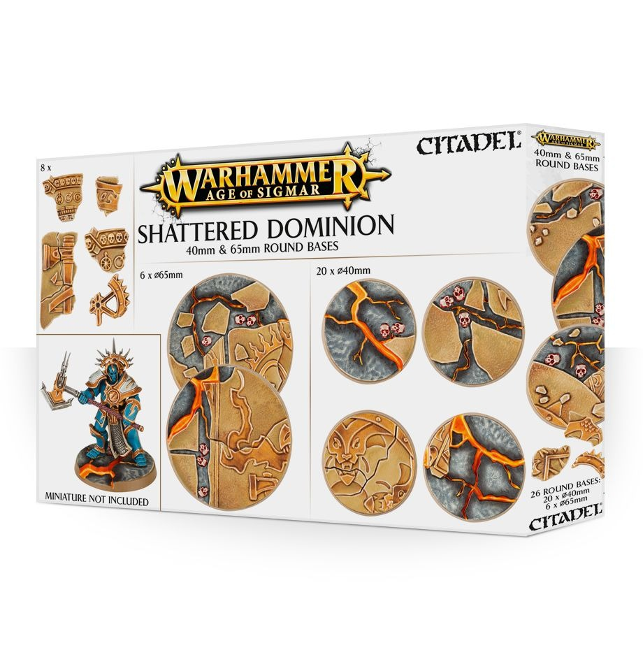 AoS: Shattered Dominion: 65 & 40Mm Round