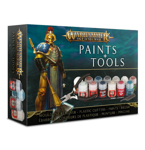 Age of Sigmar Paints and Tools