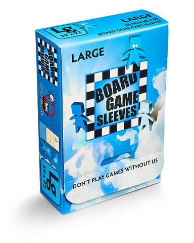 Board Game Sleeves - Large (50 Non-Glare)
