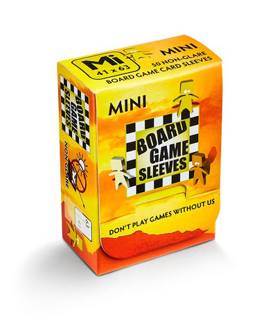 Board Game Sleeves - Mini (50 Non-Glare)