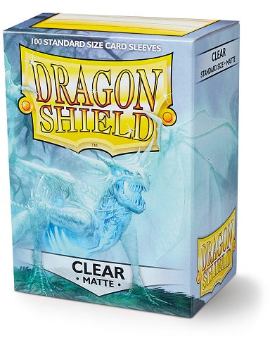 Dragon Shield Matte Sleeves (100) - Clear