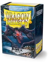 Dragon Shield Matte Sleeves (100) - Black