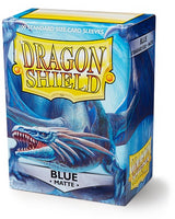 Dragon Shield Matte Sleeves (100) - Blue