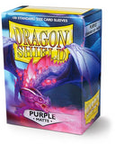 Dragon Shield Matte Sleeves (100) - Purple