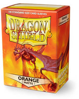 Dragon Shield Matte Sleeves (100) - Orange