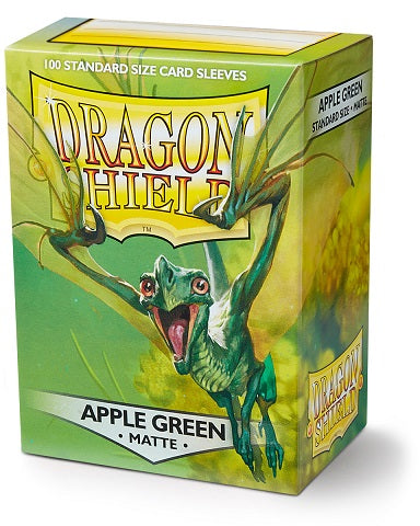 Dragon Shield Matte Sleeves -100 - Apple Green