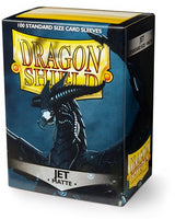 Dragon Shield Matte Sleeves (100) - Jet
