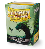 Dragon Shield Matte Sleeves (100) - Emerald