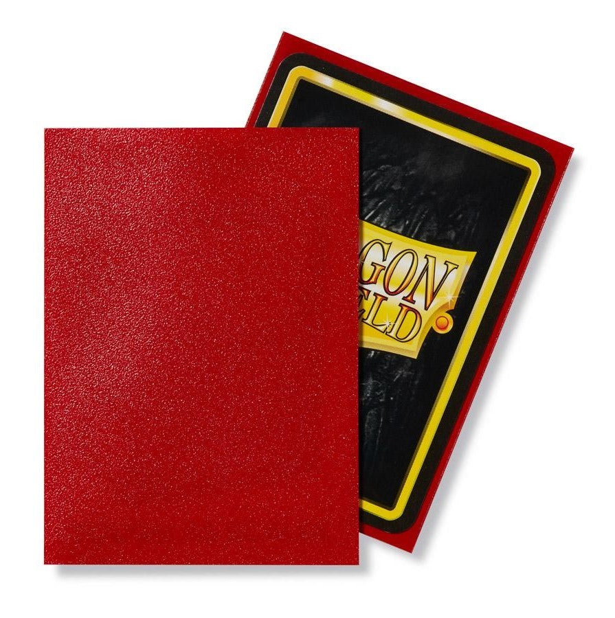 Dragon Shield MATTE Sleeves (100) - Ruby