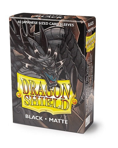 Dragon Shield Matte Japanese Sleeves - Black (60)