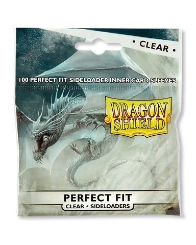 Dragon Shield Perfect Fit Sideloaders - Clear (100)