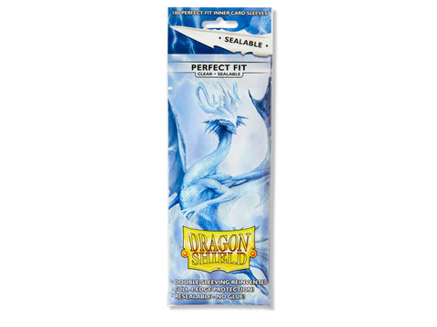 Dragon Shield Perfect Fit Sleeves  Sealable - Clear (100)