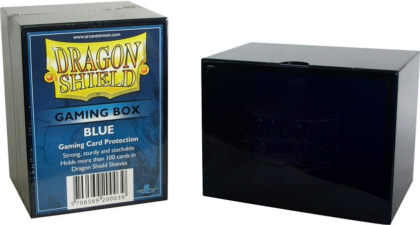 Dragon Shield Strongbox - Blue