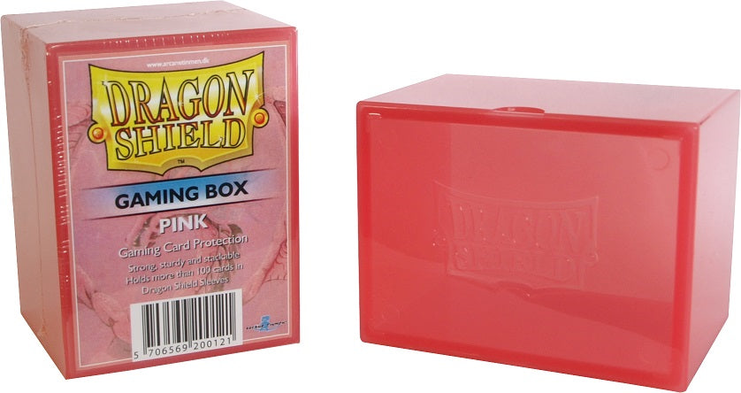 Dragon Shield Strongbox - Pink