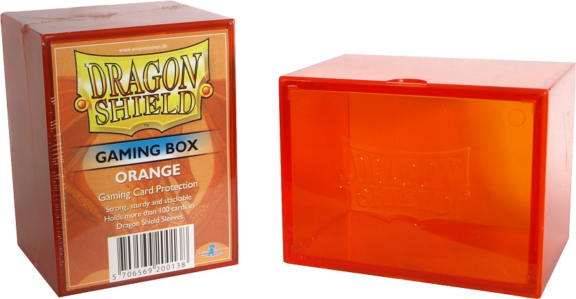 Dragon Shield Strongbox - Orange