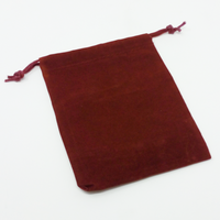 Dice Bag Burgundy - Small