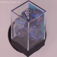 Phantom™ – Polyhedral Teal w/gold 7-Die Set