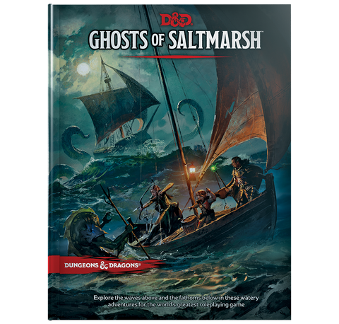 D&D 5th Ed. Ghost of Saltmarsh