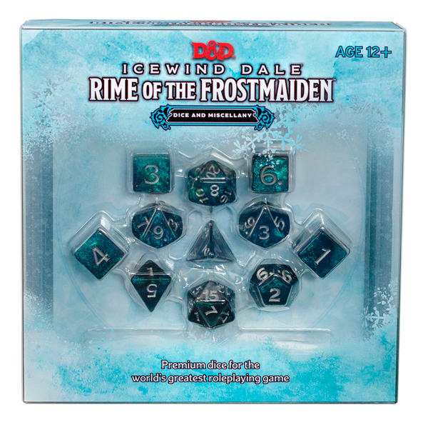 Icewind Dale Rime of the Frostmaiden Dice and Miscellany