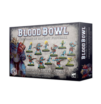 Blood Bowl - Gwakamoli Crater Gators Lizardmen Blood Bowl Team