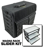 P.A.C.K. 432 Molle Horizontal with Magna Rack Sliders Load Out (Black)