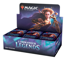 Magic Commander Legends Draft Display