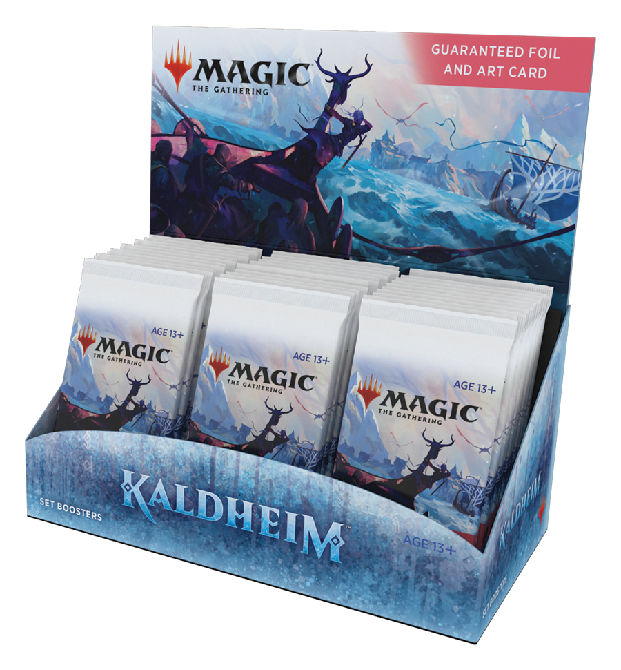 Magic Kaldheim Set Display