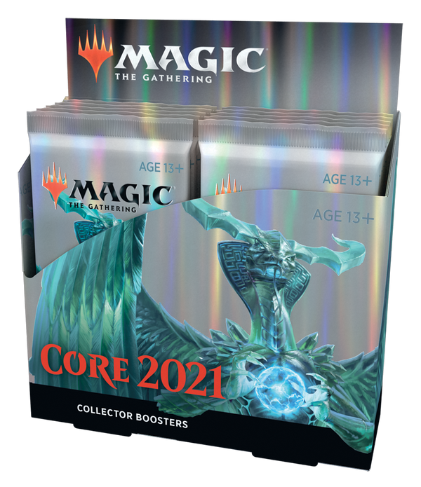 Magic Core 2021 Collectors Booster Display