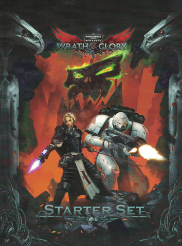 Warhammer 40000 Roleplay Wrath and Glory - Starter Set