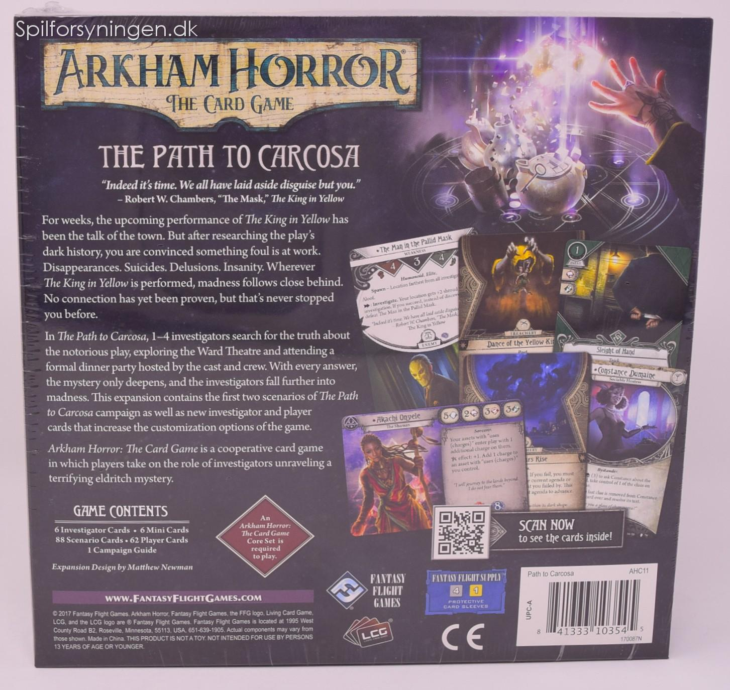 Arkham Horror: TCG - The Path to Carcosa (Exp)