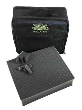 P.A.C.K. C4 Bag 2.0 Pluck Foam Load Out (Black)