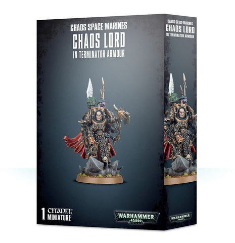 Chaos Space Marines Chaos Lord in Terminator Armor