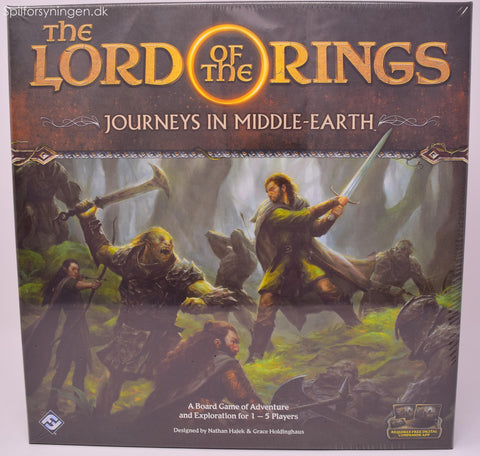 The Lord Of The Rings Journeys In Middel-Earth