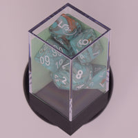 Marble™ - Polyhedral Oxi-Copper w/white 7-Die Set