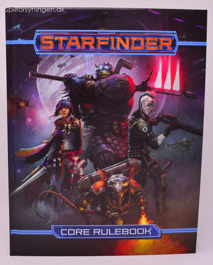 Starfinder Rollespil - Core Rulebook