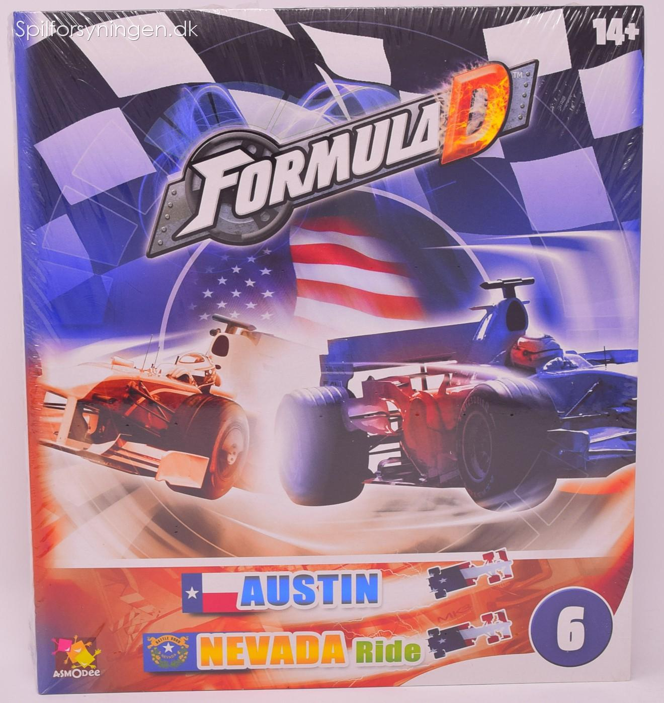 Formula D - Map #6 Austin and Nevada Ride (Exp)