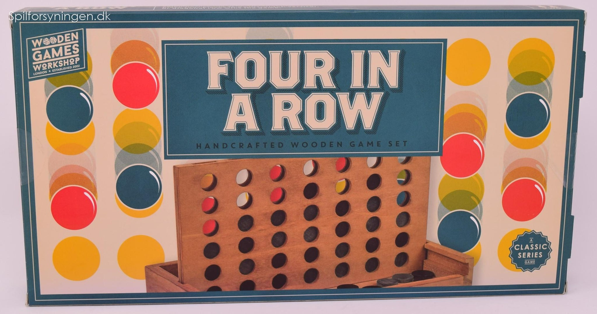 Four in a Row Wooden Games