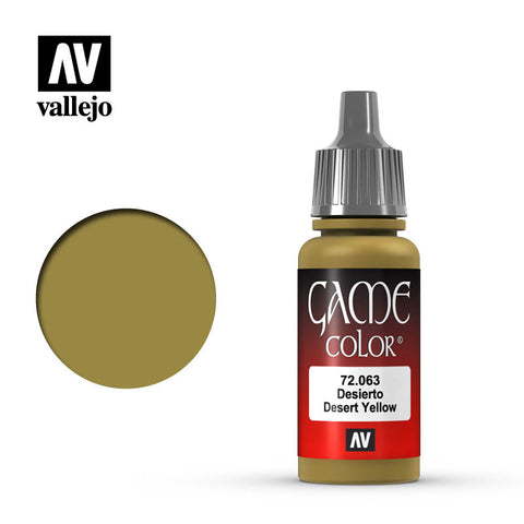 Vallejo Game Color - Desert Yellow