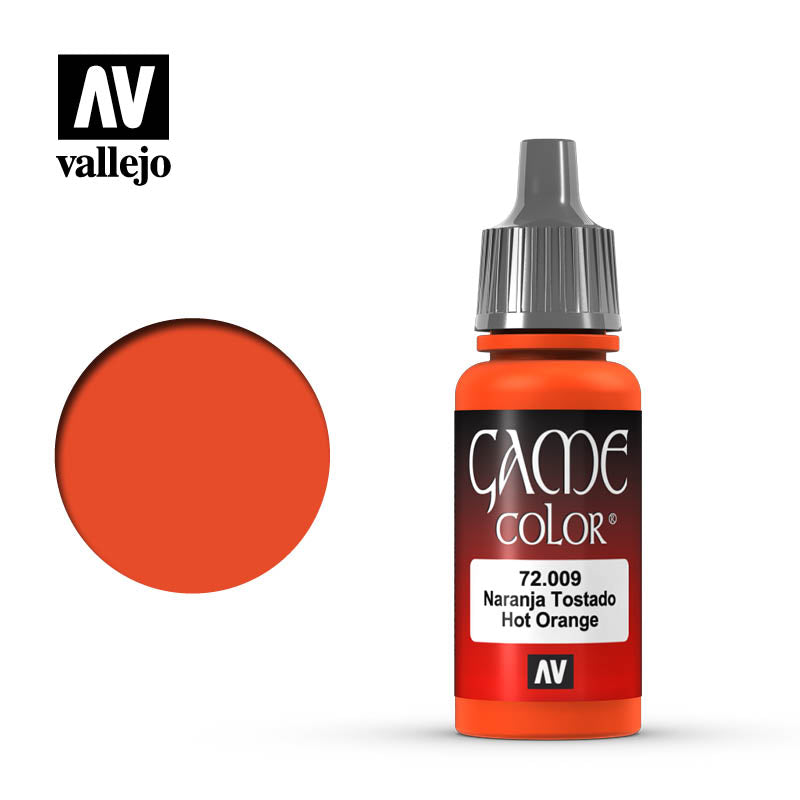 Vallejo Game Color - Hot Orange