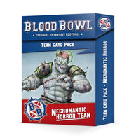 Blood Bowl - Necromantic Team Cards (Eng)