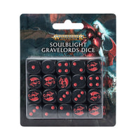*Forudbestilling* Soulblight Gravelords Dice